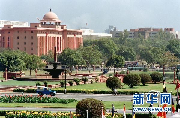 印度首都生活真实图片_印度的首都